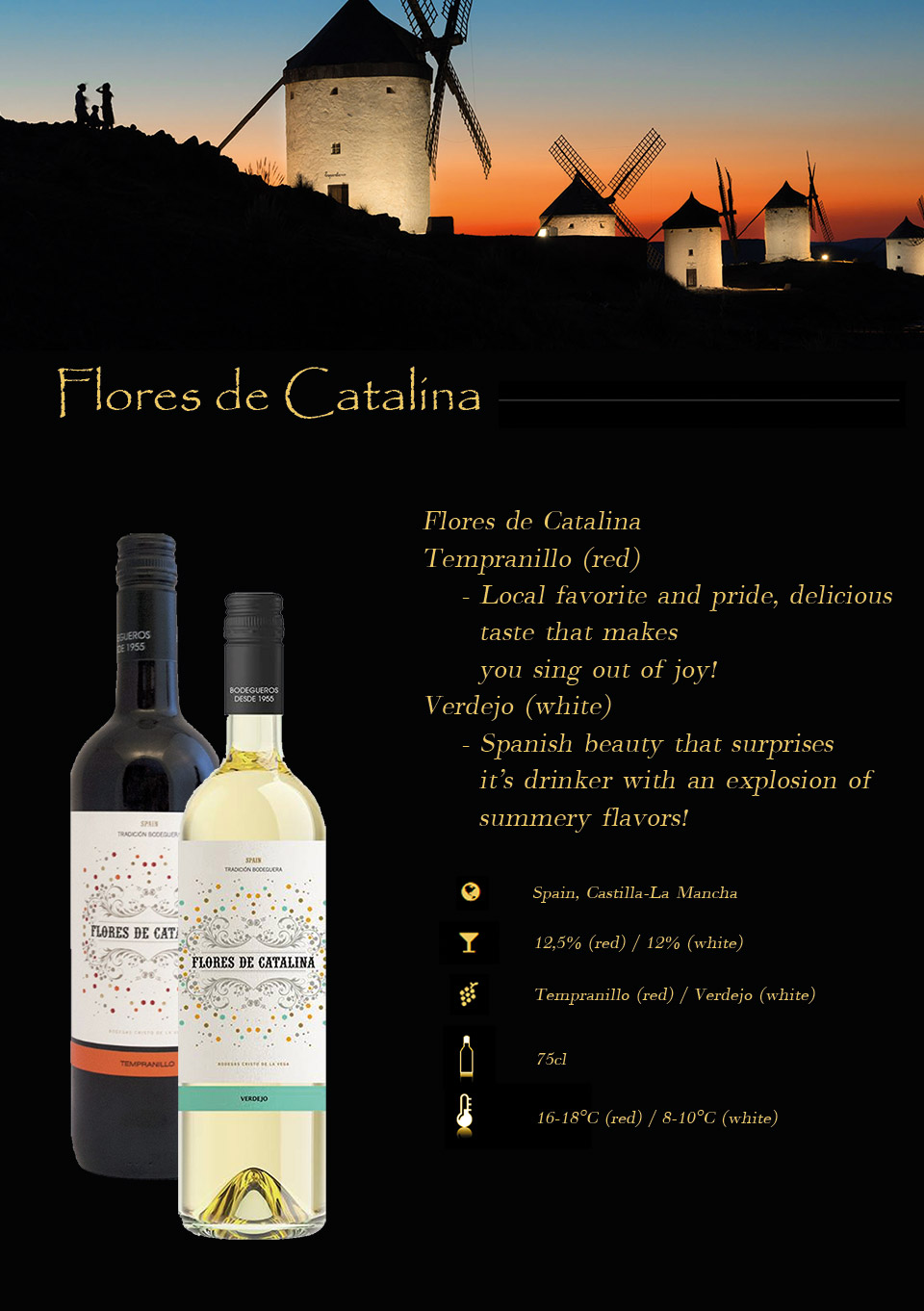 Flores De Catalina